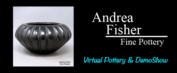 Andrea Fisher Pottery Virtual Show and Demos