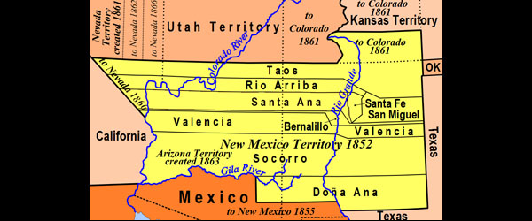 Territorial Government Comes to New Mexico